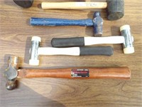 hammers - balpine, deadblow, Rubber etc