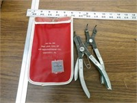 Snap ring pliers and sheet metal tools