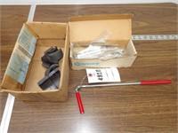 magnetic grabber, lead bearings & small files