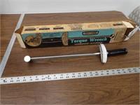 Vintage Craftsman torque wrench w/ Box