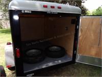 Wells Cargo single axle enclosed trailer