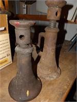 Pair of  bottle jacks