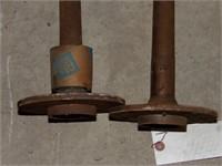 pair of GM axles (5 bolt pattern)