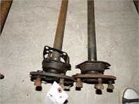 pair of axles (5 Lug)