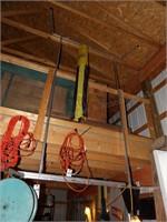 Truck ladder rack for 8' box