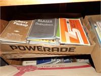 Car books, magazines & shelving unit