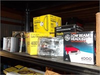 contents of shelf - automotive electrical