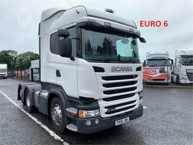2018 SCANIA R450 at TruckLocator.ie