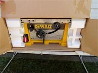 """Dewalt 10"""" Table Saw w/Box"""