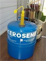 Toyokuni Kerosene Heater & Partial Can of Kero