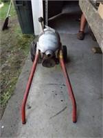 Rigid Kollmann K-1500B Sewer Drain Cleaner