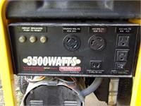 Generac 6.5hp 3500w/4375w Generator