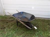 Craftsman 4cu. ft. Steel Tub Wheelbarrow