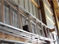 16' Werner Aluminum Extension Ladder
