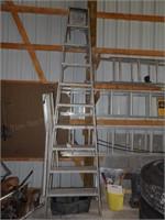 10' Aluminum Stepladder