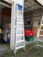 12' Werner Aluminum Step Ladder