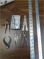 6pc Machinist & Drafting Tools