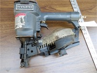 DeVilbiss Pneumatic Coil Roofing Nailer