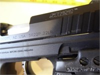 Ruger SR22P - .22 LR