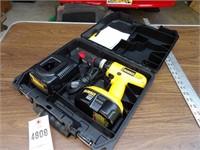 Dewalt 18v Cordless Drill w/ Charger & Case
