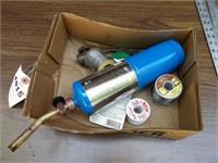7pc Propane Solder Torches, Tank, Solder & Flux