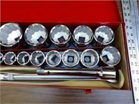 "Craftsman 20 pc 3/4"" drive socket set"