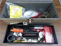 Grey Poly Toolbox w/ Mixed Tools