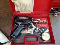 Millers Falls Heavy Duty elec Solder Gun w/ Case
