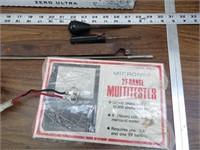 Battery Tender, Voltage Gauge, Multimeter & More