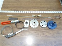5pc Oil Filter Wrenches & Sockets