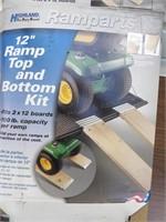 "Aluminum ""Ramparts"" Ramp Making Kit"