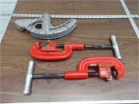 Rigid Pipe cutters & conduit bender head