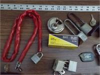 Locks, Keys & lockout tabs (over 12pcs)
