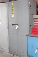 """2 Door Metal Storage Cabinet - 36"""" x 18"""" x 78"""""""