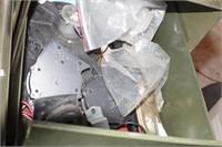 2 Stacks of Metal File Drawers - 10 Pc