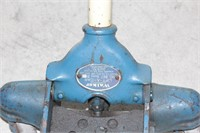 Blue Rolling Floor Jack - Approx 2 Ton Capacity