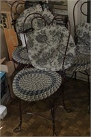 Ice Cream parlor chairs