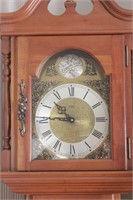 Maple wood grandfather clock