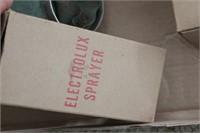 Electrolux sprayer system