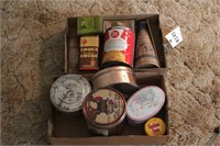 Tins and dairy container