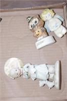 Crucifix & figurines