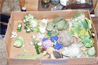 Frog Figurine collection (over 20 pcs)