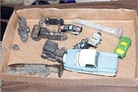 Franklin Mint 56 Nash, RR spikes & cars