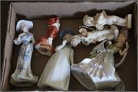 Figurines - Cherubs & Victorian ladies
