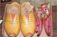 Wooden shoes (Dutch & wedge heels)