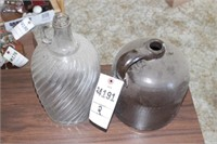 glass & earthenware jugs