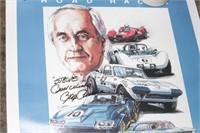 Car posters - Camaro, Palm springs