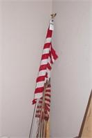 50 star flag, 48 star flag, rulers & yardsticks
