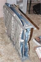 folding spring frame cot
