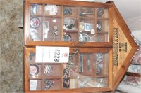 """""""My Collection"""" Car emblems in wood display"""